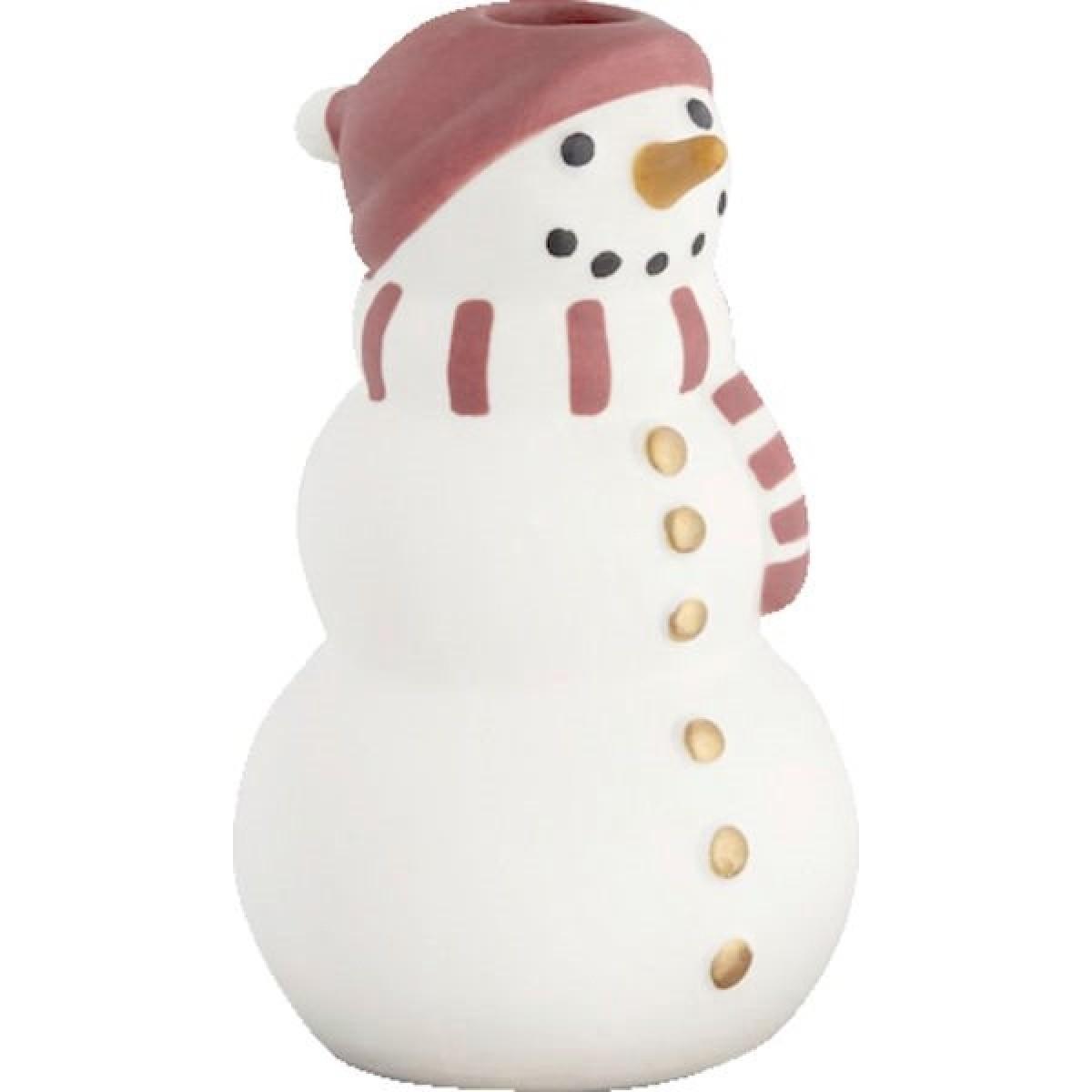 KÄHLER Christmas snemand H10 cm