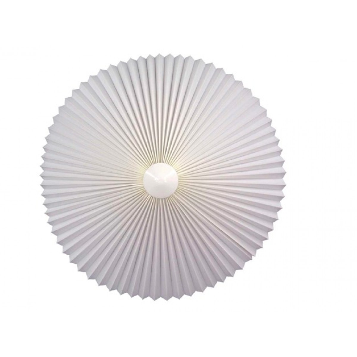 Loftroset hvid ø. 45 cm