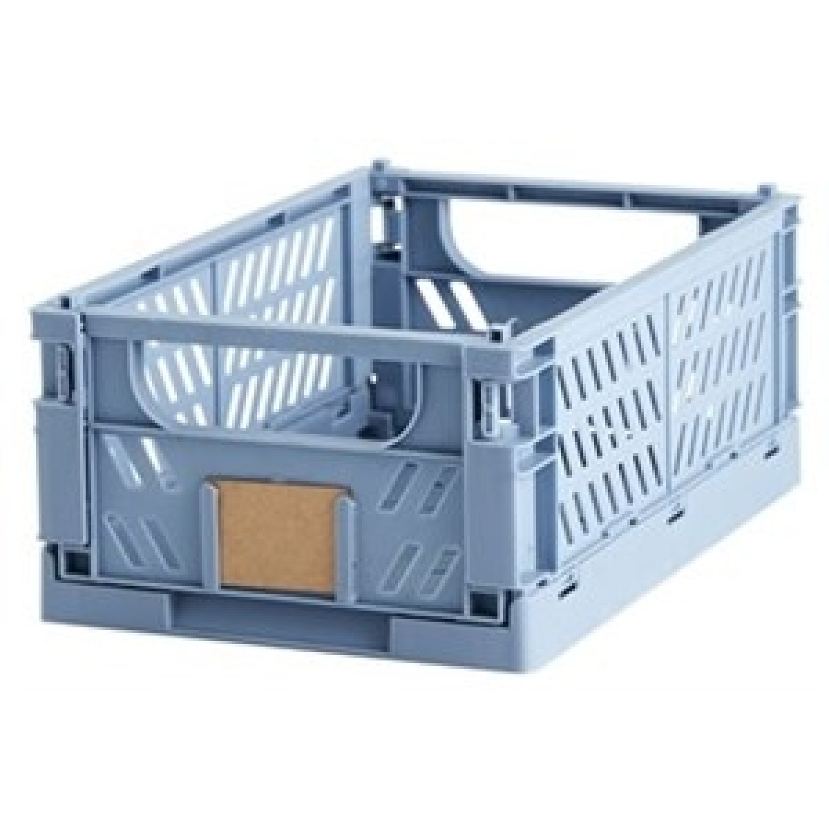 DAY Opbevaringskasse foldbar 33 x 24,5 x 15 cm lys blå