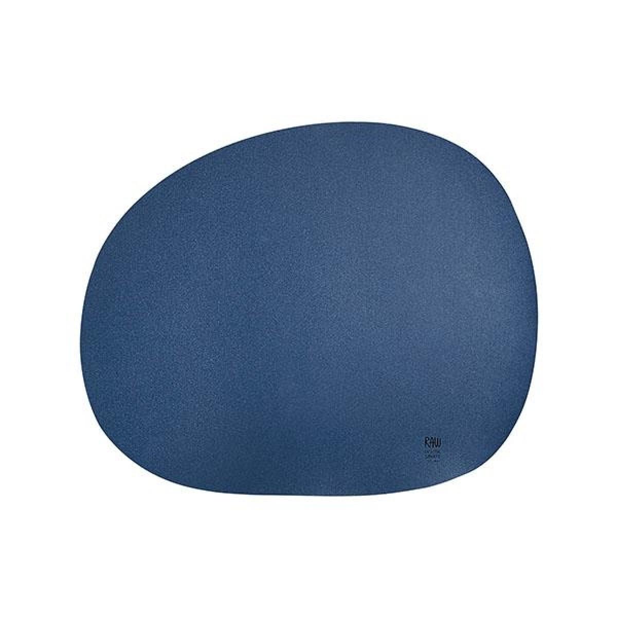 AIDA Raw dækkeserviet marine blå
