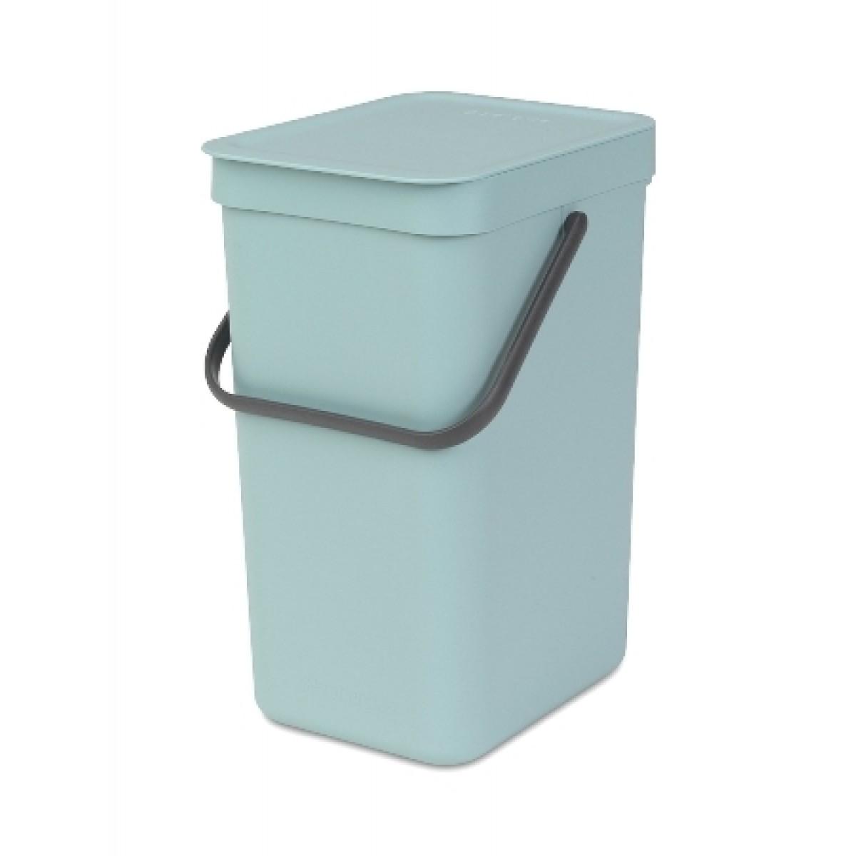 BRABANTIA Affaldsspand m/ låg - Affaldssortering 12 ltr - mint