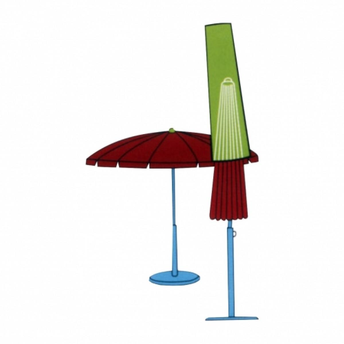 CONZEPT Overtræk til havemøbler parasol 230 cm.