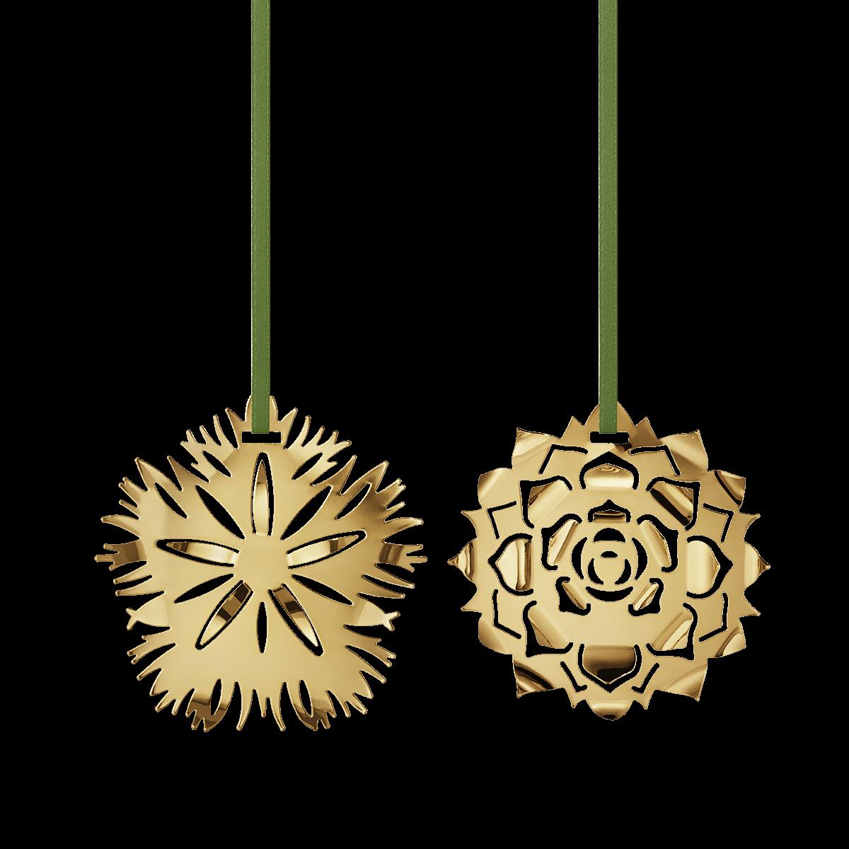 GEORG JENSEN Ornamenter nellike og rosette 2020