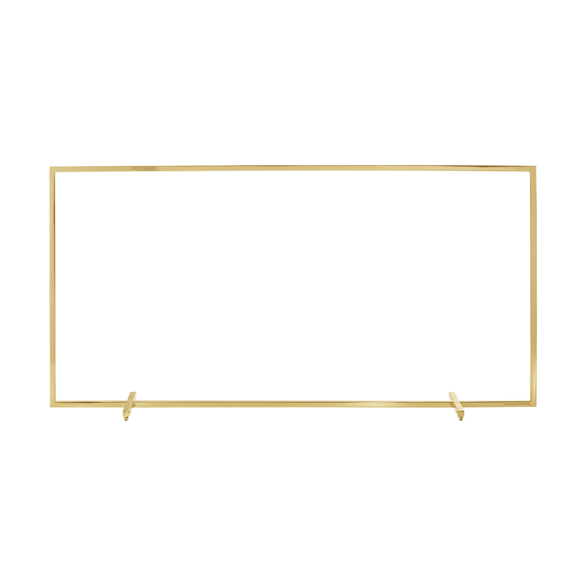 GEORG JENSEN Display til juledekorationer guld