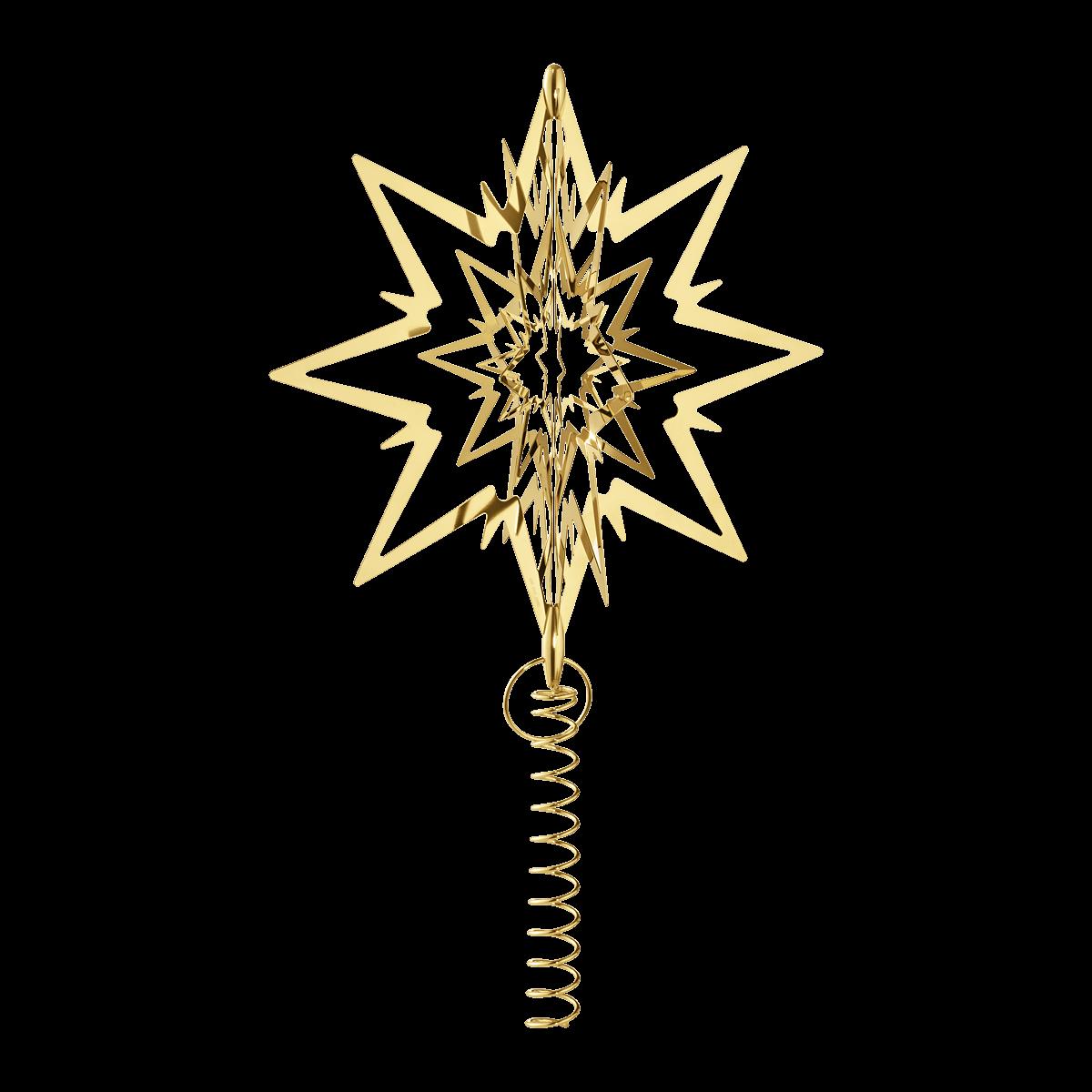 GEORG JENSEN Topstjerne stor guld
