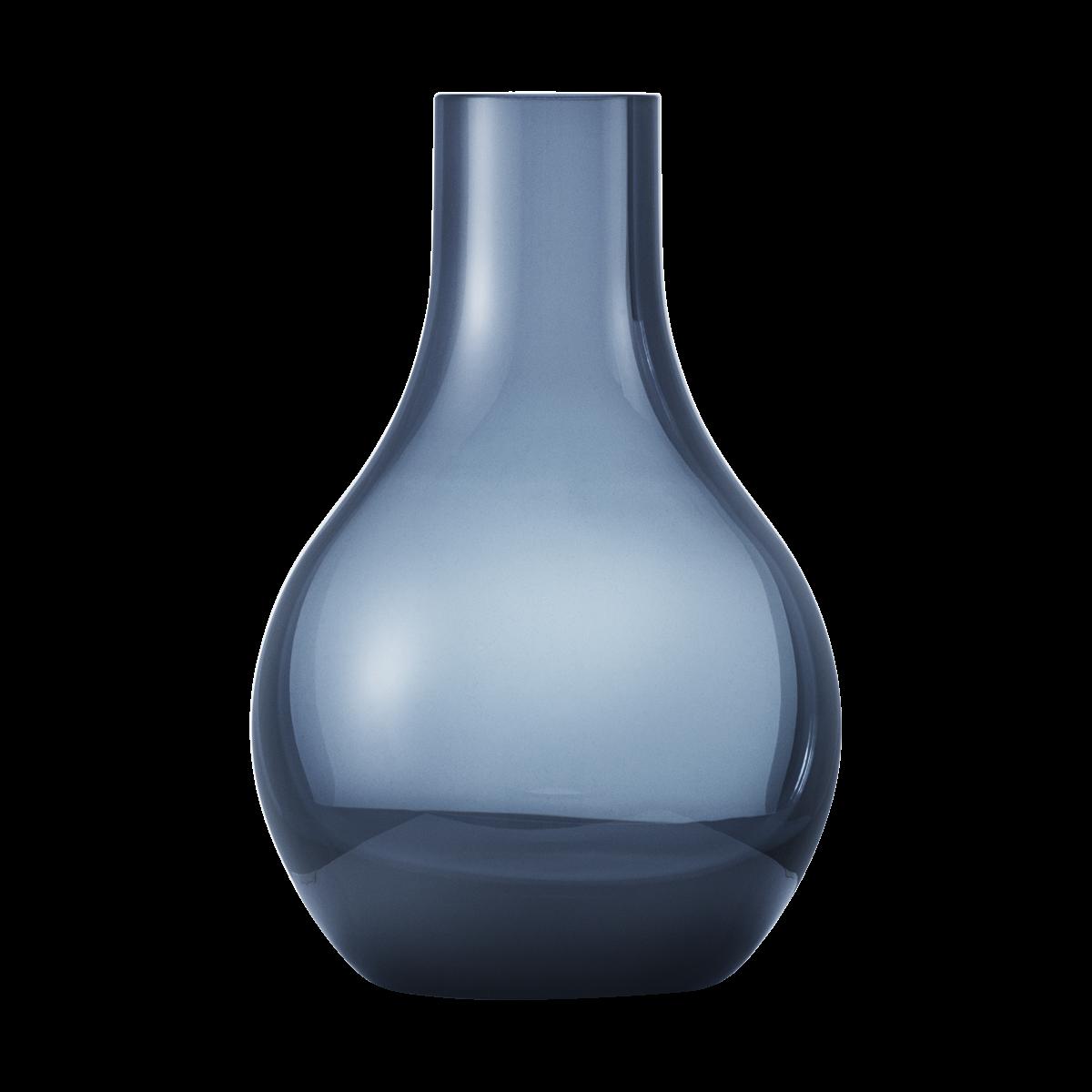 GEORG JENSEN Cafu vase glas blå mini