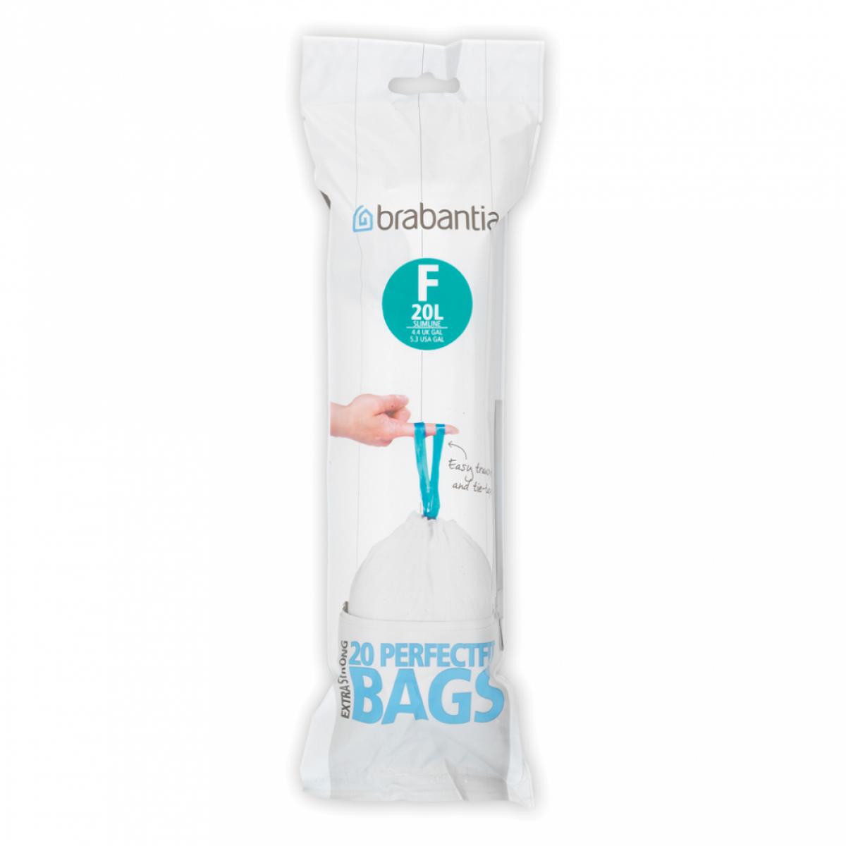 "BRABANTIA Affaldspose 20 stk 20 L ""F"""