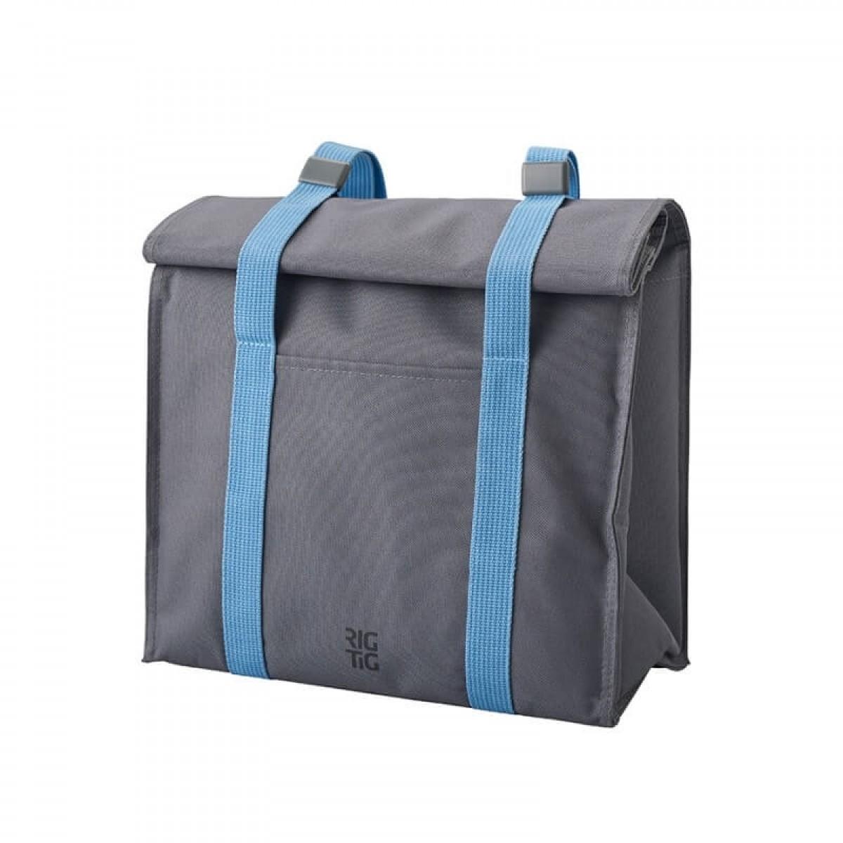 STELTON RIG-TIG Køletaske grå/blå