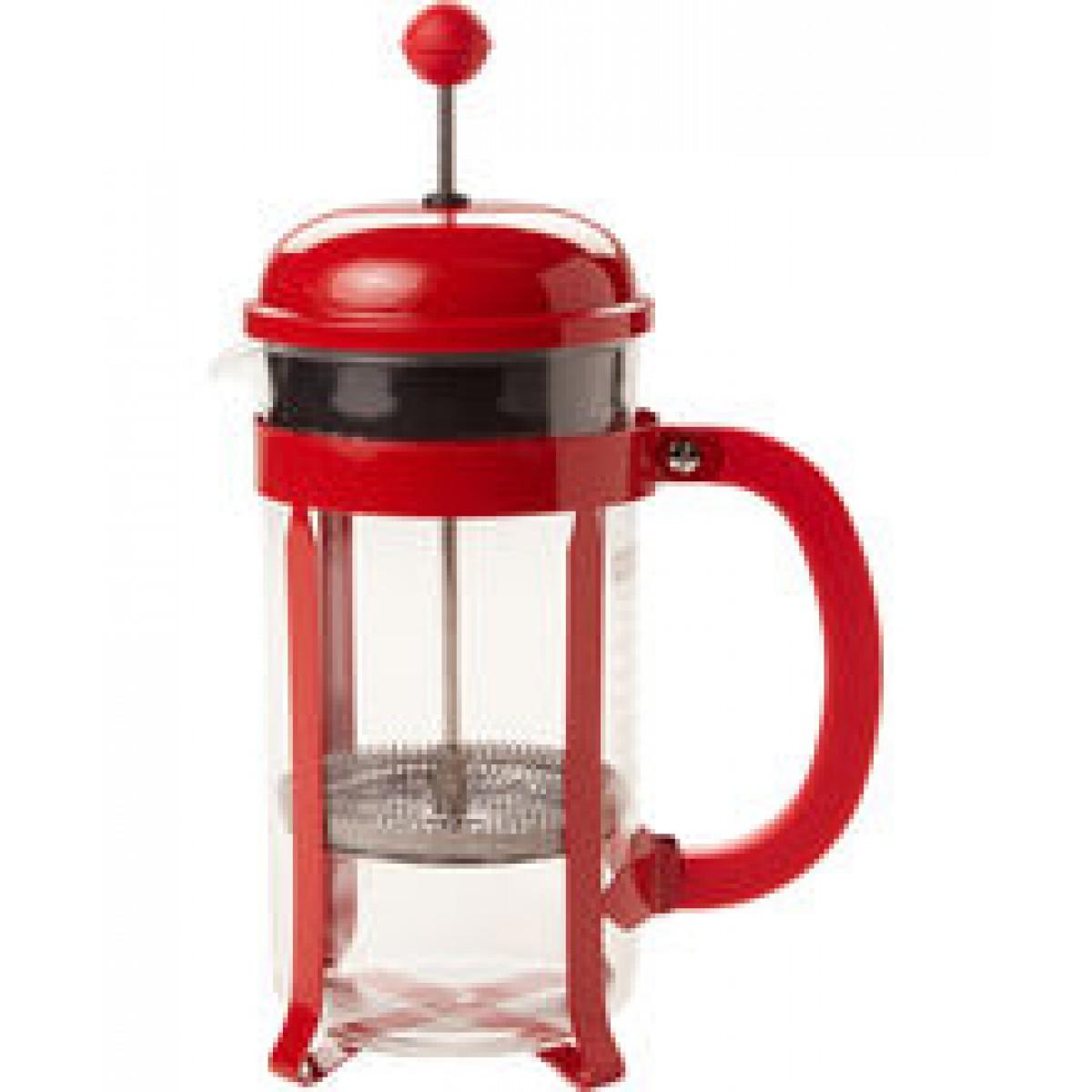 BODUM Kaffebrygger chambord rød 8 kops