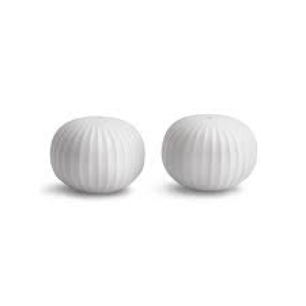 KÄHLER Hammershøi salt & peberstrøsæt hvid