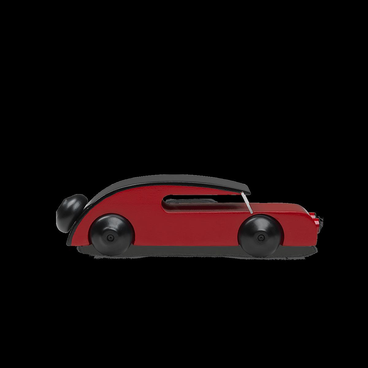 KAY BOJESEN Automobil malet bøgetræ 13 cm.