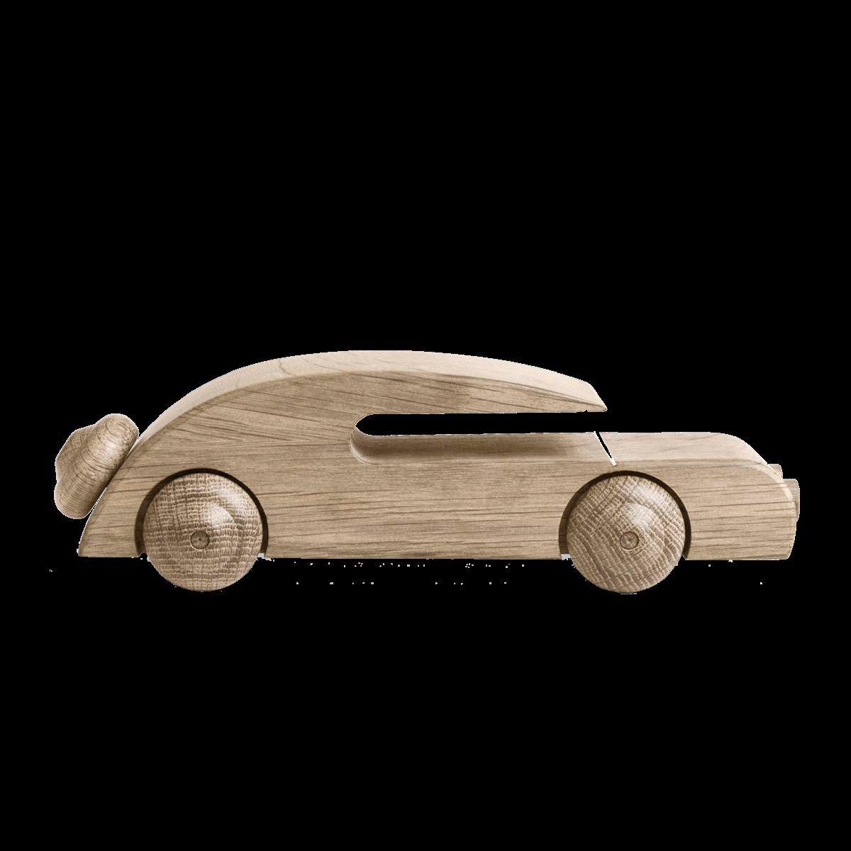 KAY BOJESEN Automobil ubehandlet eg 27 cm.