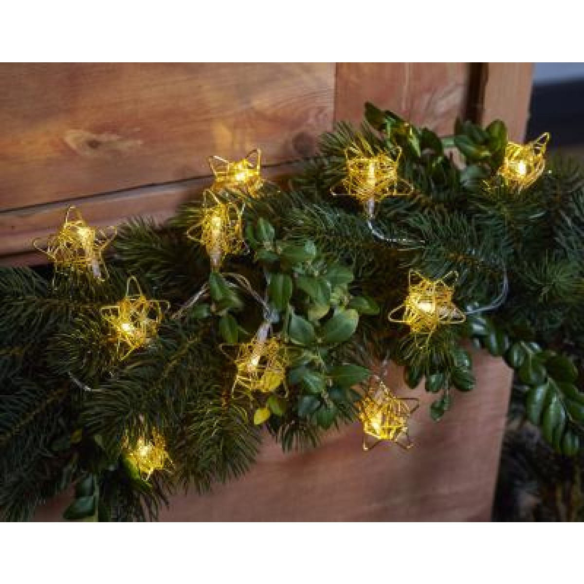 SIRIUS Elisa stjerne 10 LED guld
