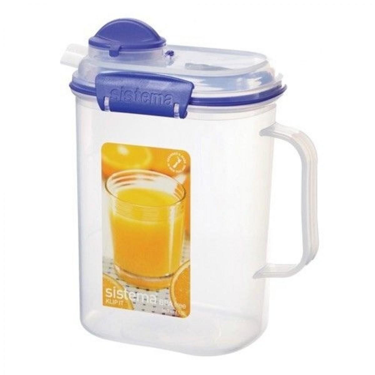 SISTEMA Juice kande blå 1,5 ltr