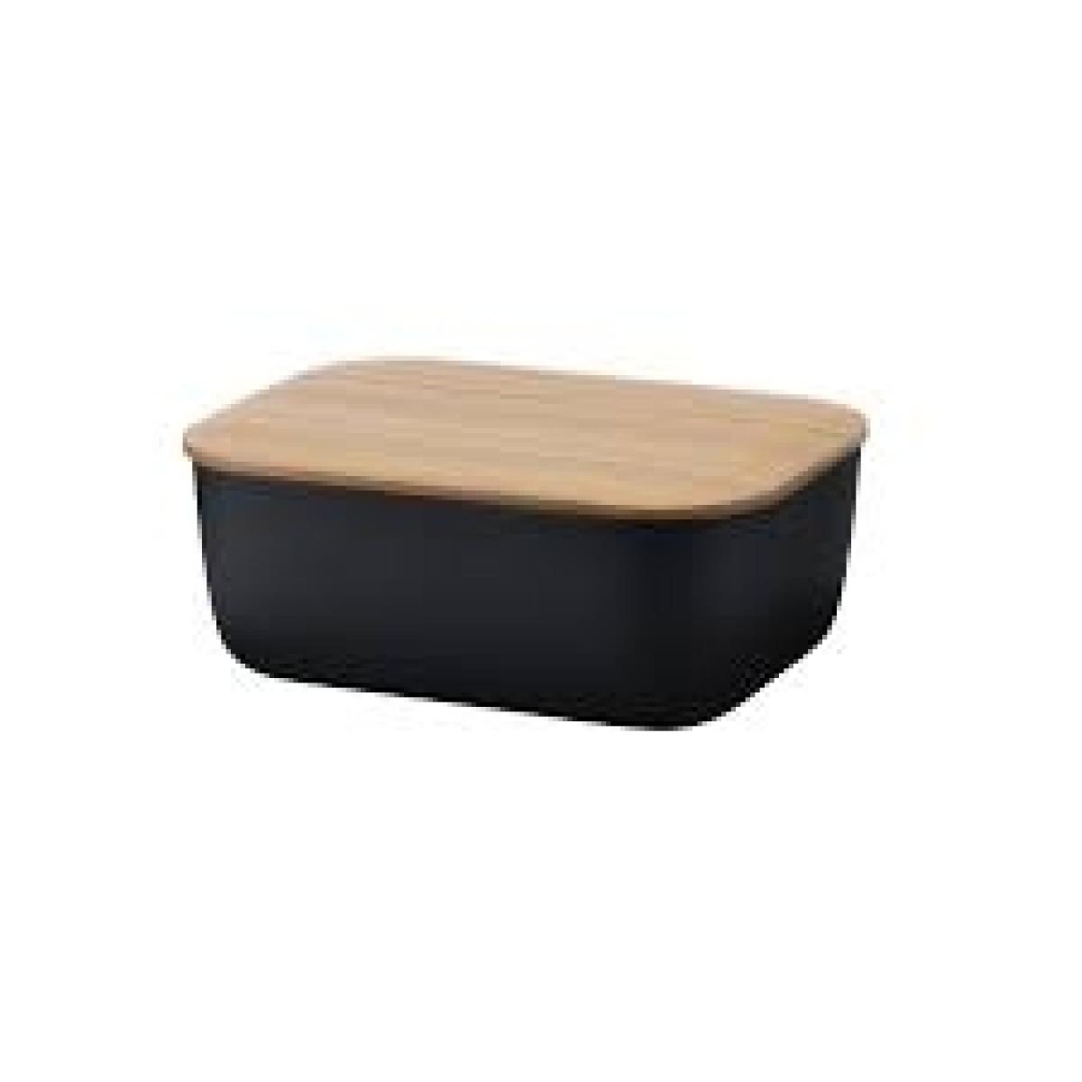 STELTON RIG-TIG Smørboks box-it - sort