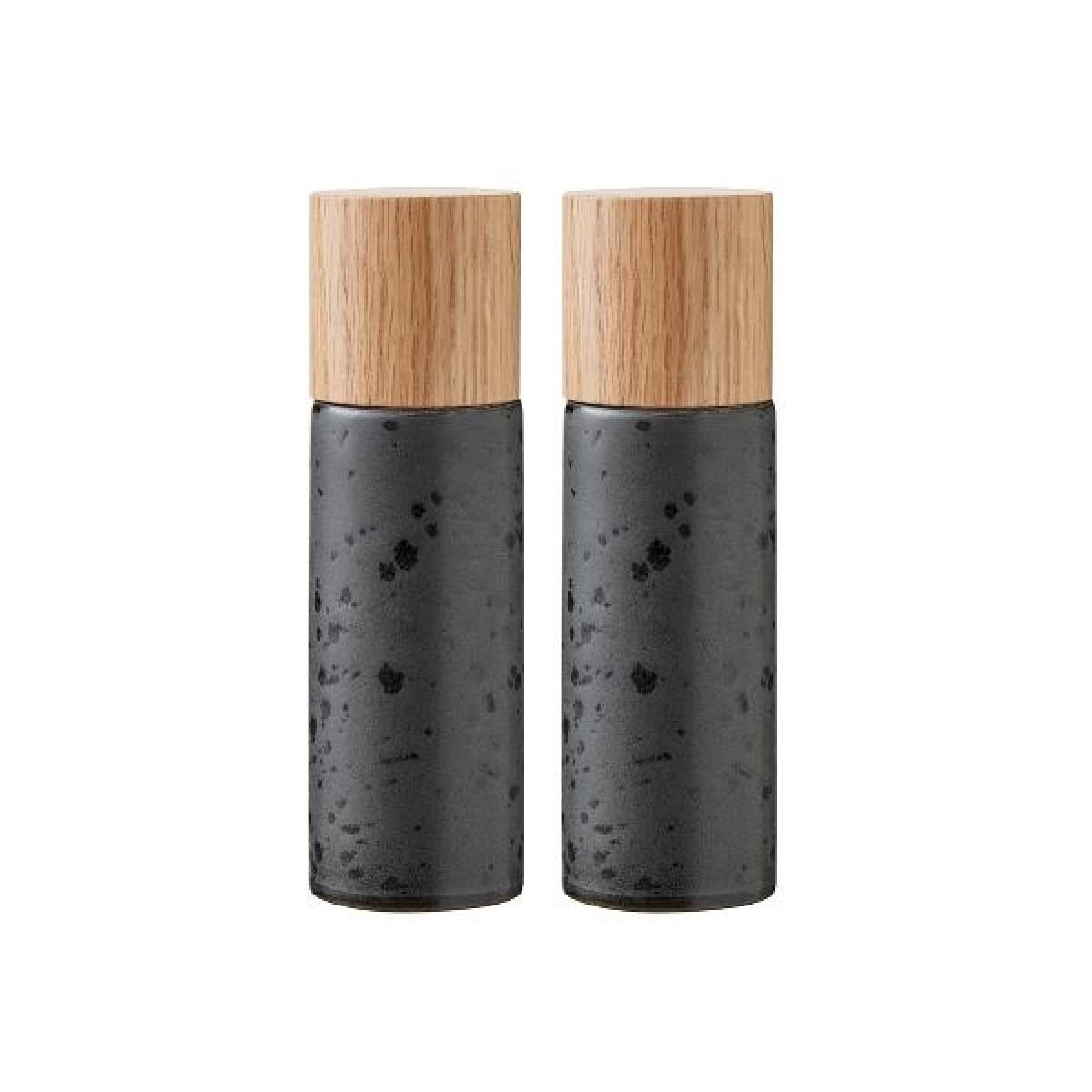 BITZ Salt & peber sort 17 cm