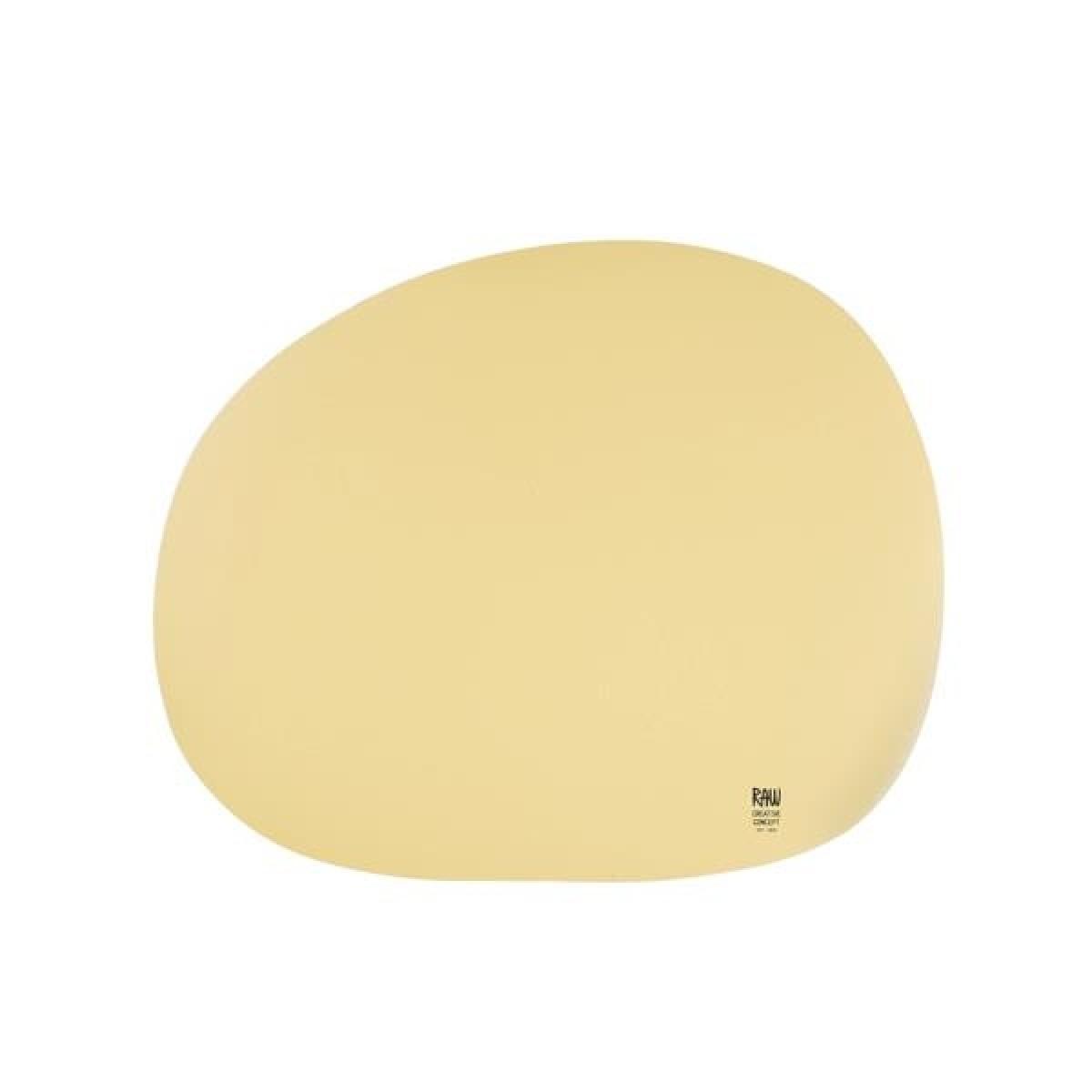 AIDA Raw dækkeserviet lys gul
