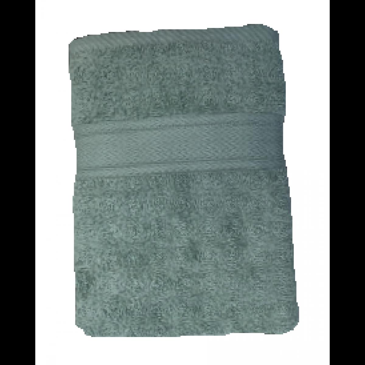CONZEPT Håndklæde 50 x 100 cm. - støvet grøn