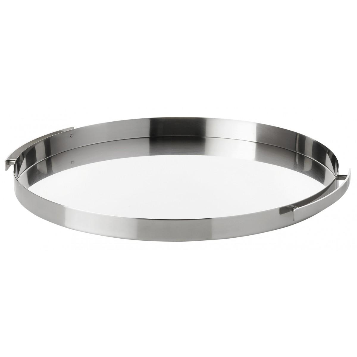 STELTON AJ Serveringsbakke 33,5 cm - stål