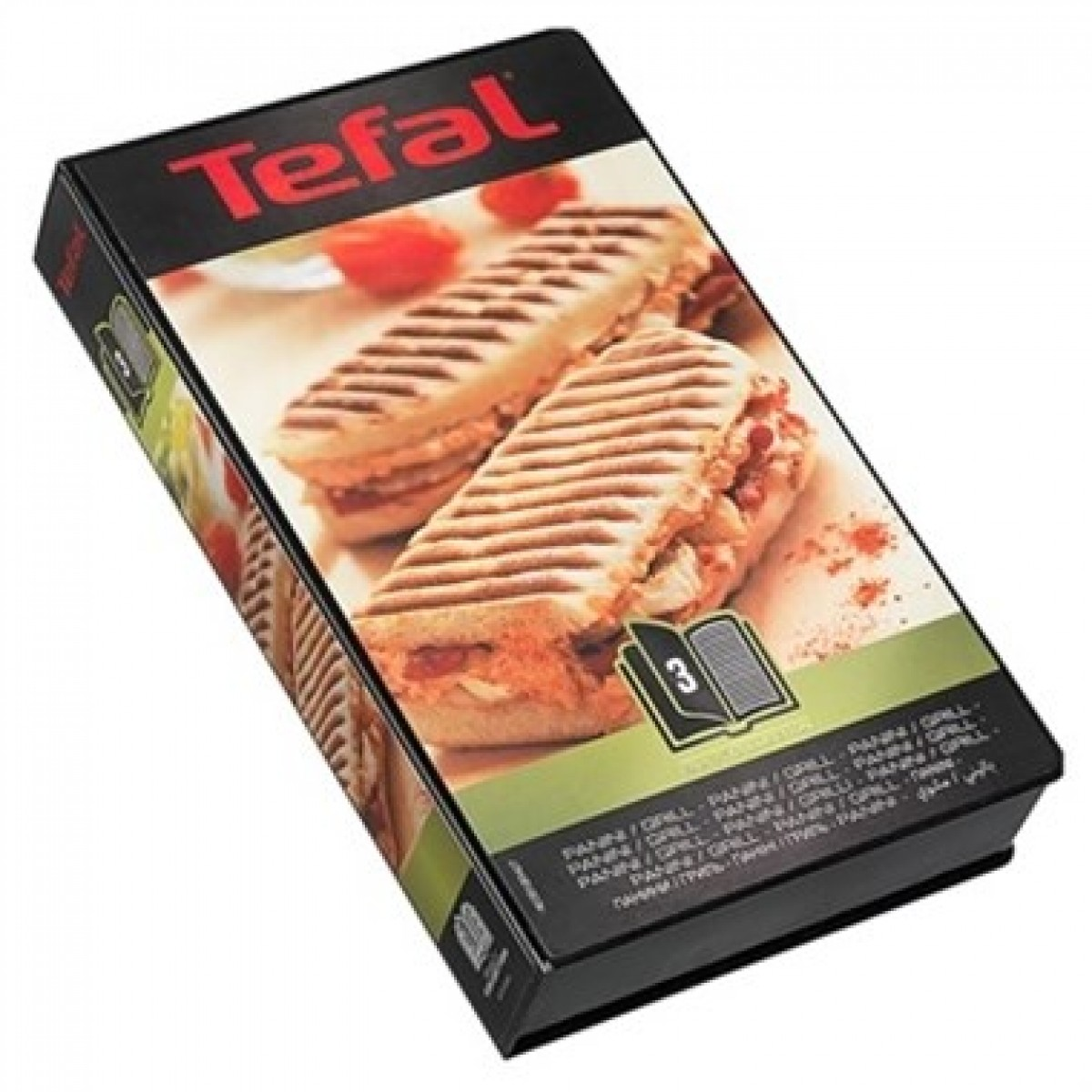 TEFAL Snack collection plader panini nr. 3