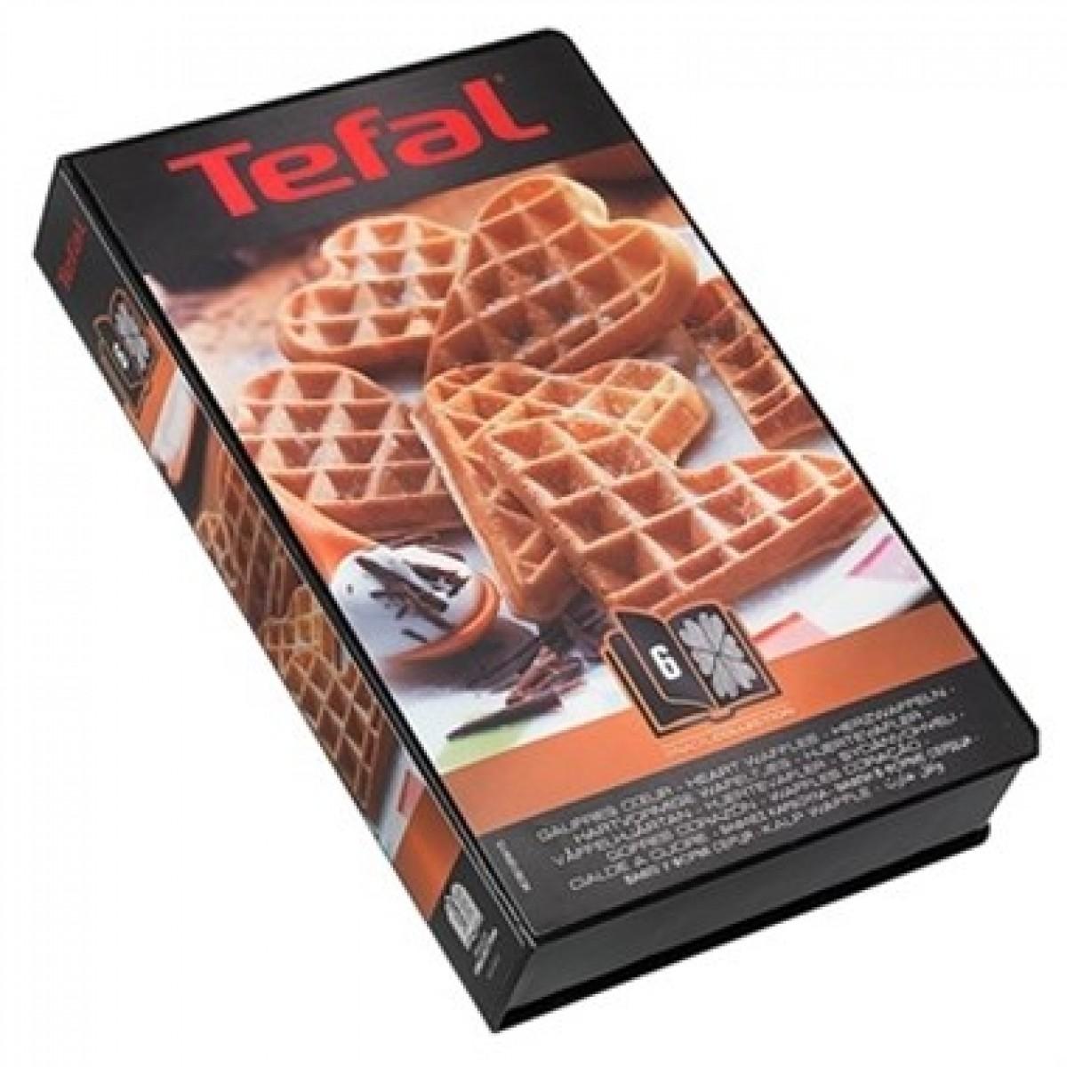 TEFAL Snack collection plader hjerte vafler nr. 6
