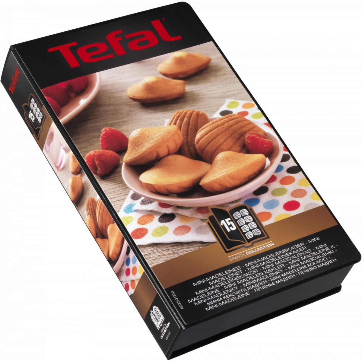 TEFAL Snack collection plader mini madeleines nr. 15