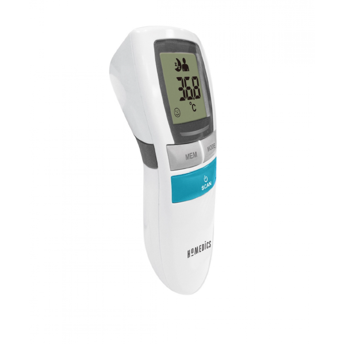 HOMEDICS Termometer infarødt - kontaktfrit