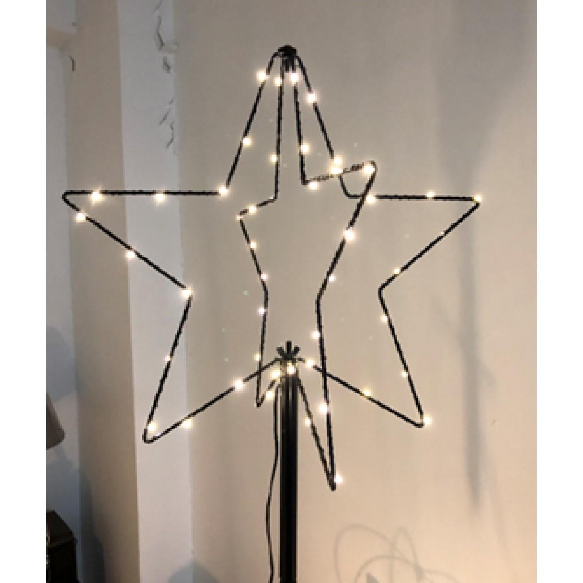 DA´CORE Trådstjerne på spyd