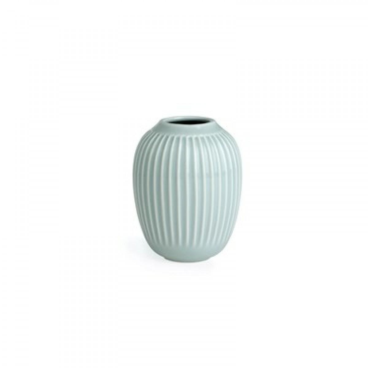 KÄHLER Hammershøi vase mint grøn 10 cm.