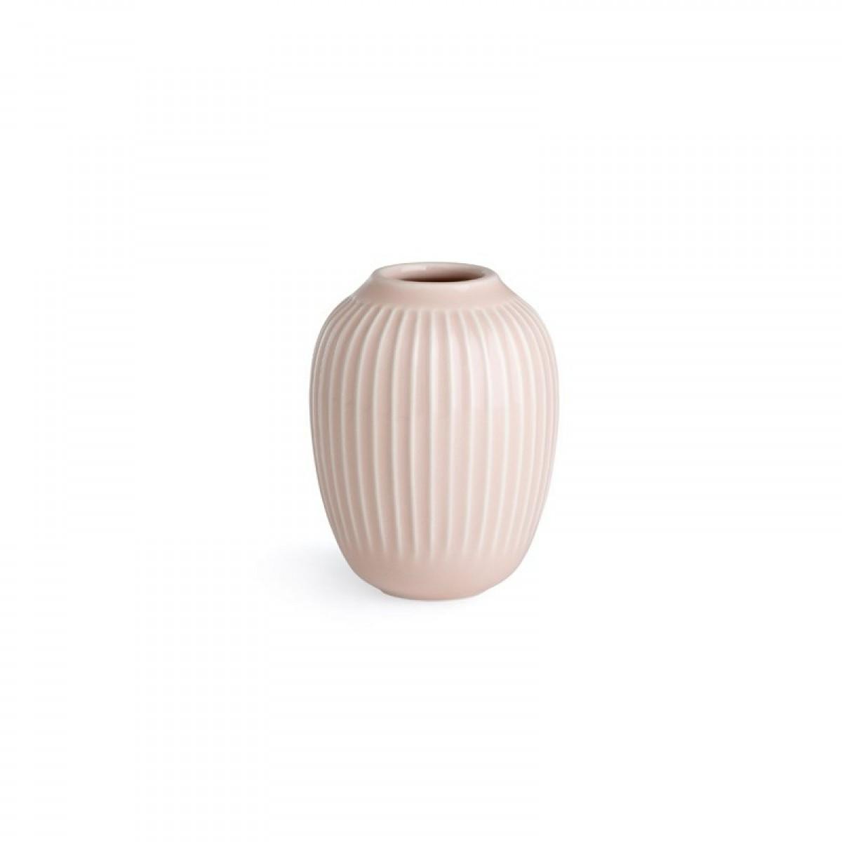 KÄHLER Hammershøi vase rosa 10 cm.