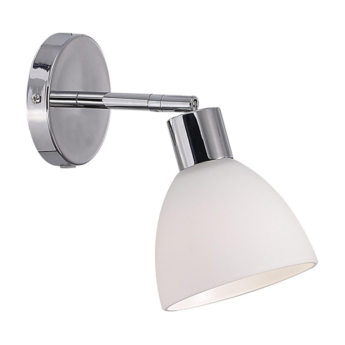NORDLUX Ray væglampe krom / opal