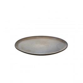AIDARawmiddagstallerken28cmmetallicbrown-20