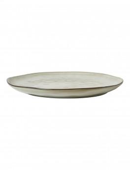 DACORE Tallerken stentøj 28,5 cm blank stone