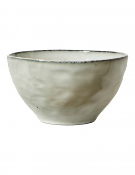 DACORE Skål stentøj 14 cm blank stone