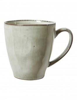DACORE Krus med hank stentøj 10,5 x 11,5 cm blank stone