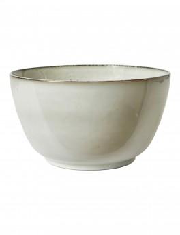 DACORE Stentøjs grødskål 24 cm blank stone
