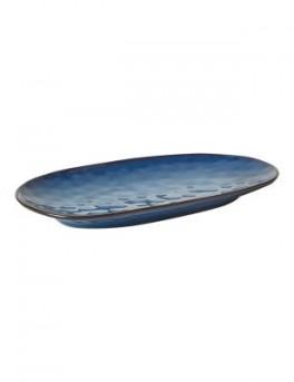 DACORE Serveringsfad ovalt lille - blå