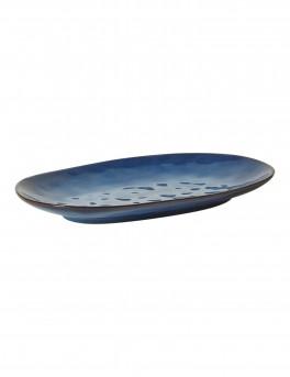 DACORE Serveringsfad ovalt stort - blå