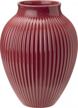 Knabstrup vase rød