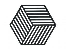 ZONEBordsknerhexagon16x14x09cmsort-20