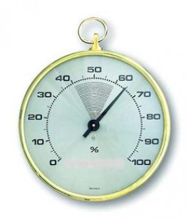 AGIMEXHygrometerhvidmessing10cm-20
