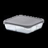 ROSENDAHL Låg til fad 24,5x24,5 cm grå