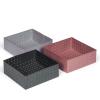 ALFREDO Opbevaringsboks rosa 21x21 cm
