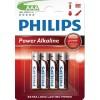 """PHILIPS Batterier """"AAA"""" 4 pk"""