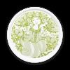 BJØRN WIINBLAD Bakke ø.31 cm amelia, grøn