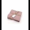 DACORE Strikket karklud 3 stk 25x25 cm rosa