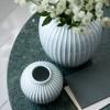 KÄHLER Hammershøi vase mint grøn 20 cm.