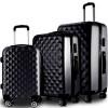 Kuffertsæt 3 stk - sort