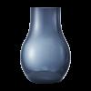 GEORG JENSEN Cafu vase glas blå lille