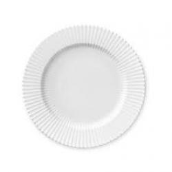 LYNGBY Tallerken hvid 27 cm.